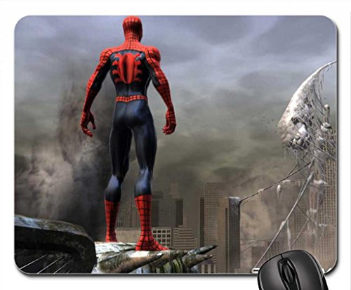 spiderman web of shadow Mouse Pad, Mousepad (10.2 x 8.3 x 0.12 inches)