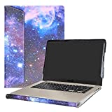 """Alapmk Protective Case Cover for 15.6"""" ASUS VivoBook S15 S510 S510UA S510UQ S510UN F510UA X510UQ Series Laptop(Warning:Not fit Other Model),Galaxy"""