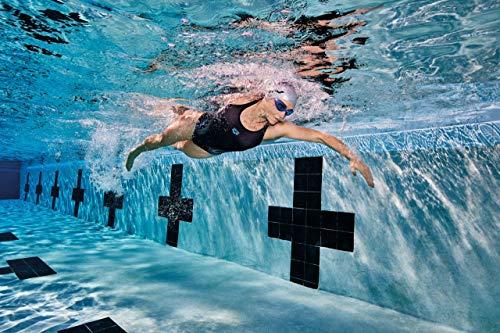 51ISzTg%2B7SL Cómodas gafas de natación para entrenamiento con ajuste universal y sellado suave. Lentes duras con protección UV y película antivaho. Puente de nariz autoajustable, correa dividida, sin PVC