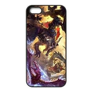 Cho'Gath iphone 4 4S Cell Phone Case Black Phone Accessories JV1G0600
