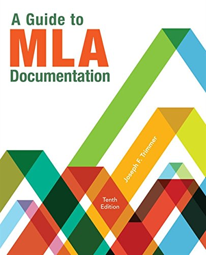 A Guide to MLA Documentation (MindTap Course List)