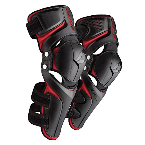 EVS Sports Epic Knee Pad (Black, Large/X-Large) (Sports Bike Knee Pads)