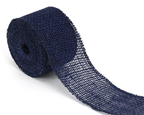 Kel-Toy Jute Burlap Ribbon, 2.5