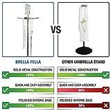 Brella Fella Wet Umbrella Bag Wrapper Stand Station
