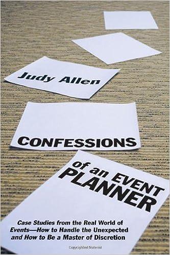 event planning certification best event planning books
