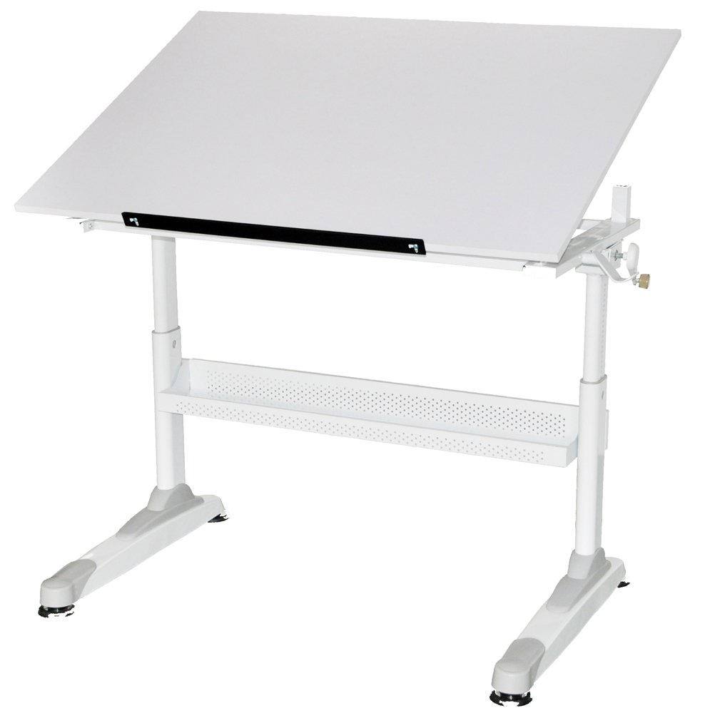 Martin Motor City Crank Drawing Table 30-Inch by 42-Inch Top by Martin