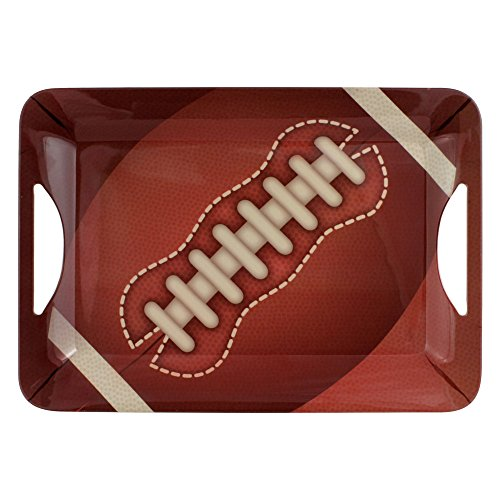 Pfaltzgraff Melamine Rectangular Football -