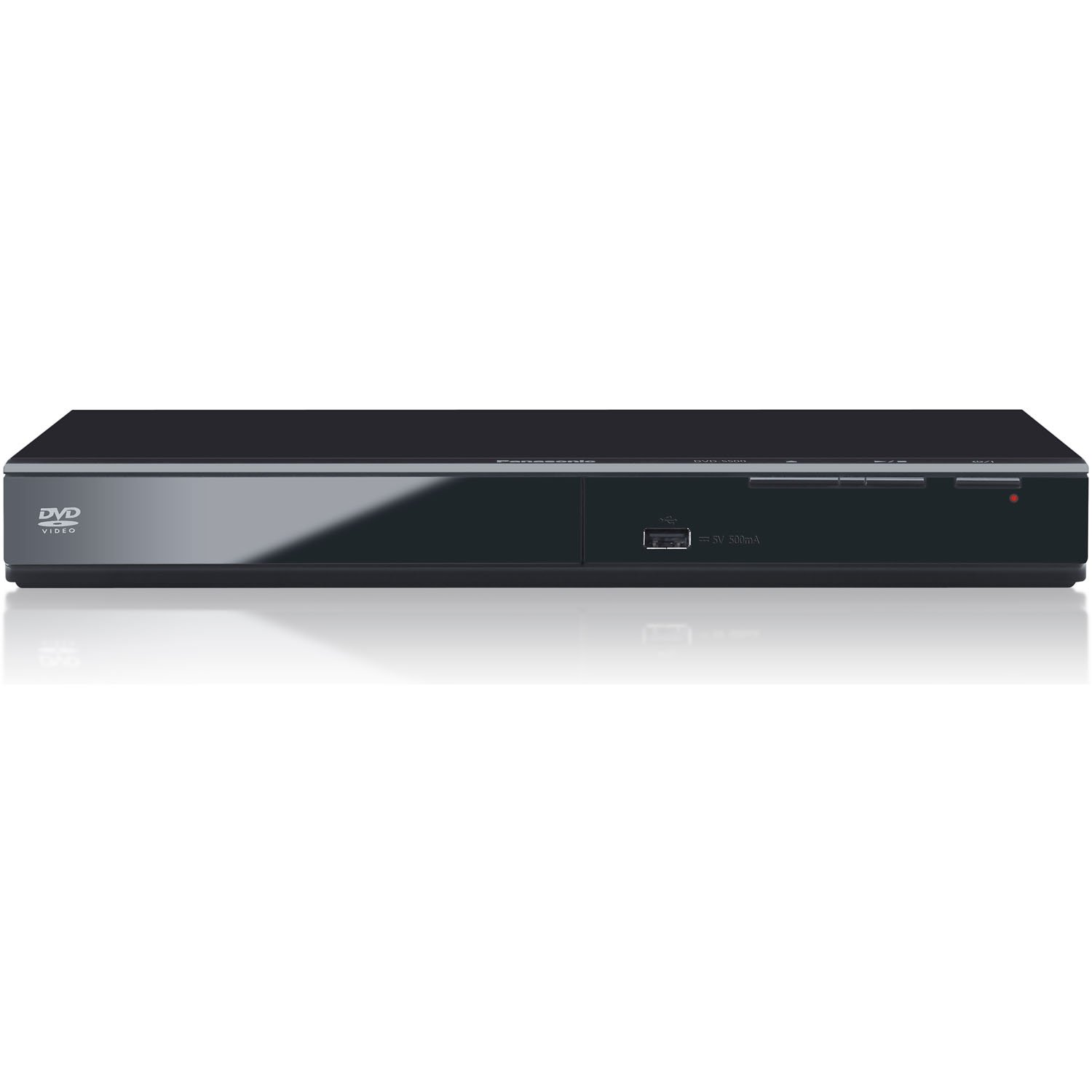 Panasonic Progressive Scan DVD Player with CD Ripping and Tough Dust Resistant Design, Features all NEW Power Resume for Power Outages, and Video & Audio D/A Converters for DVD/CD Playback, Additional Feature Includes Enhanced File Format Compatibility fo