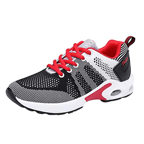 Balboa 15 Series - OrchidAmor Women's Big Girls Fashion Casual Lace Up Breathable Sport Running Platform Sneakers Shoes 2019 Summer Black