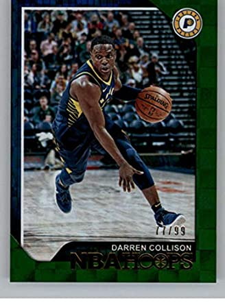 2018-19 NBA Hoops Green #192 Darren Collison SER/99 Indiana Pacers Official