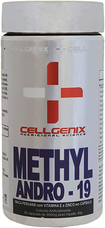 Pré-Hormonal Methyl Andro-19 90 Cápsulas - Cellgenix