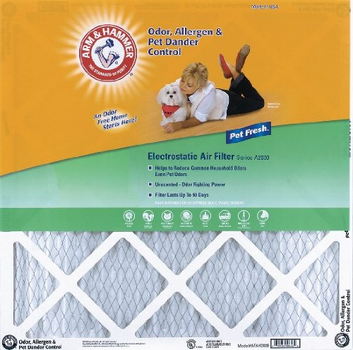 20x20x1 Arm and Hammer Air Filter (6 Pack)