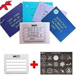 Colored Envelops 5 PCS + Address Ruller