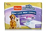 #2: HARTZ Home Protection Lavender Scent Odor Eliminating Gel Dog Pads, 21