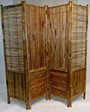 Master Garden Products Bamboo Self Standing Divider and Screen, 72 x 72'', Tan
