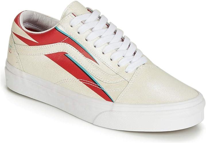 Vans, Sneaker Uomo Bianco Bianco, Bianco (Bianco), 42 EU