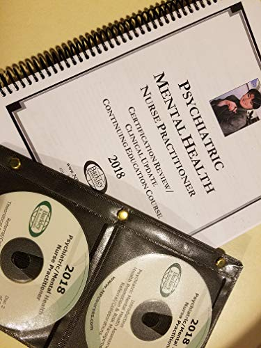 Barkley & Associates Psychiatric Mental Health Nurse Practitioner Certification Review CD Series Audio CD-2018