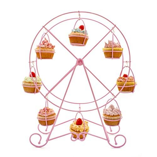 Zoie + Chloe Cupcake Ferris Wheel Cupcake Stand]()