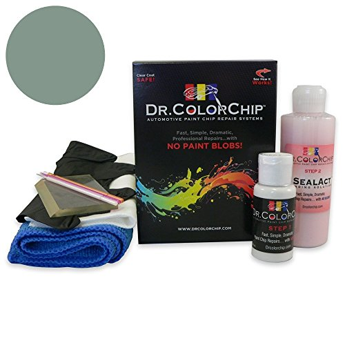 Dr. ColorChip Oldsmobile All Models Automobile Paint - Laurel Mist Poly H (1966O) - Squirt-n-Squeegee Kit