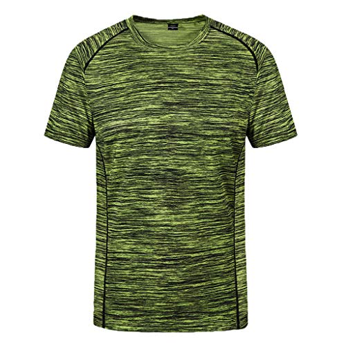 - POQOQ T-Shirts Mens Fashion Casual Front Placket Basic Long/Short Sleeve Henley T-Shirts Men's Long-Sleeve Workwear T-Shirt 6XL Green