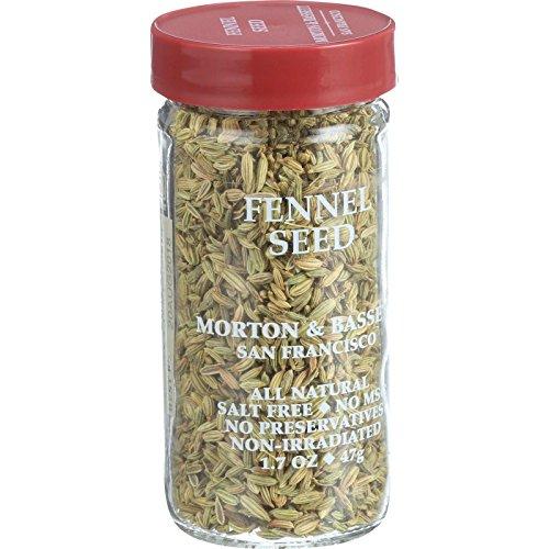 Morton & Bassett Fennel Seed, 1.7-Ounce jar
