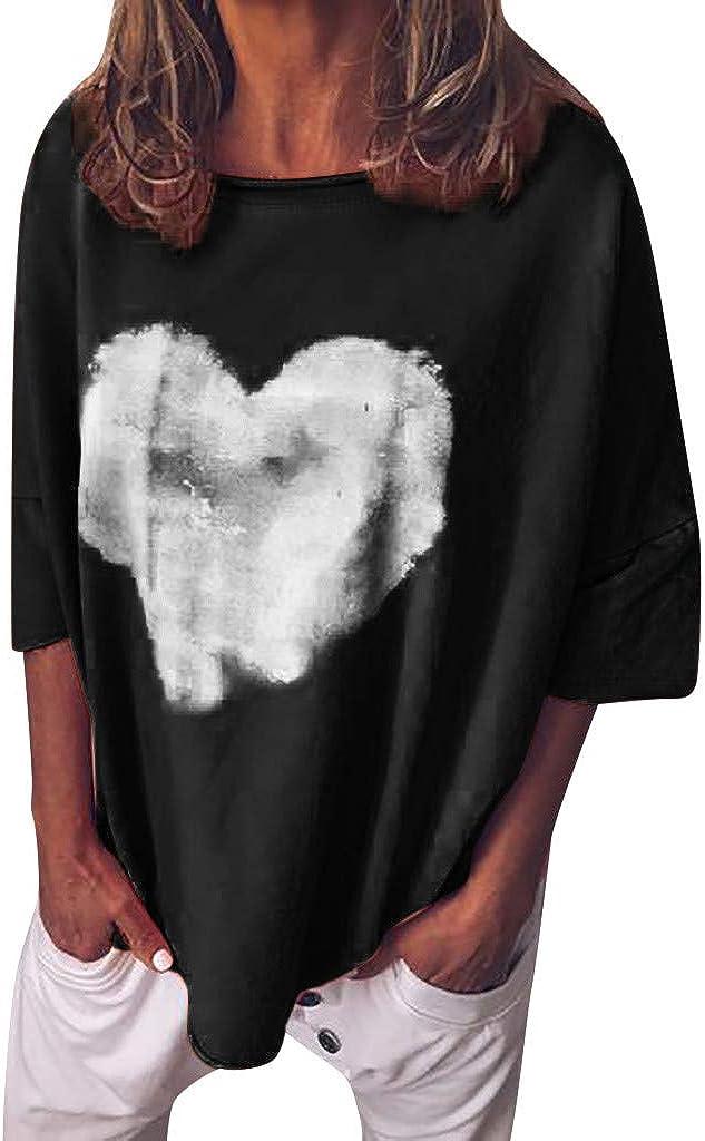 Camisetas para Hacer Deporte Mujer Casual Solapa Cuello ...