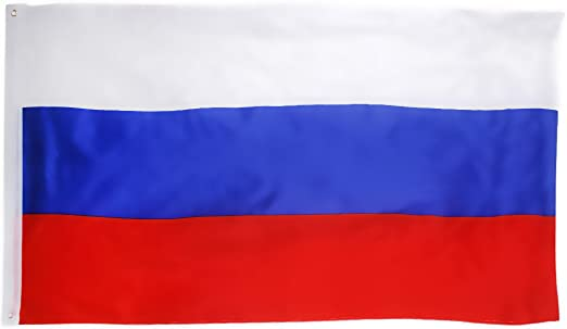 90cm 5 Grosse Russland Nationalflagge Russische Fahne 150 3ft oesen Fuer Haengende