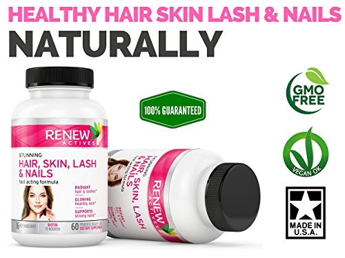 Hair-Skin-Lash-Nails-Supplement-Promotes-Longer-Hair-growth-Radiant-Skin-Stronger-Thicker-Nails-22-Potent-Vitamins-Assists-Anti-Aging-Skin-Stunning-Results-in-30-days-Guaranteed