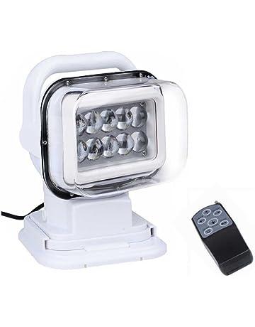 LED Luces de Búsqueda, Luz de Trabajo de 12v 50W Rotación de Focos de Repuesto