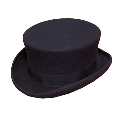51e09aa5efb BLACK WOOL FELT DRESSAGE HAT  Amazon.co.uk  Clothing