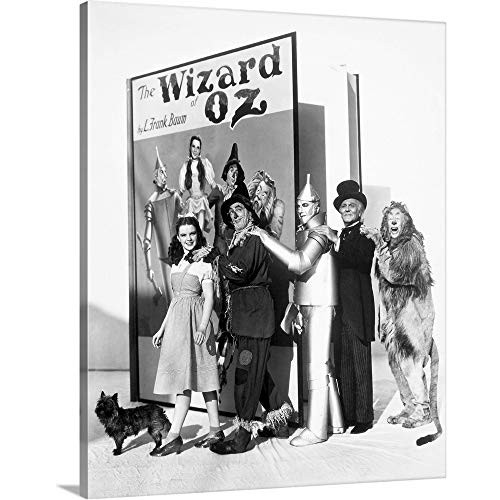 GREATBIGCANVAS Gallery-Wrapped Canvas Entitled Wizard of Oz, 1939 by 16