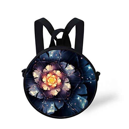 and Women Dfgc0094i Shoulder Round Girls Bag Casual Women Bag FancyPrint Fashion qnpgY6B