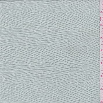 03d780fd3ee Image Unavailable. Image not available for. Color: Misty Green Crinkled  Herringbone Jersey Knit, Fabric ...