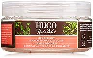 Hugo Naturals Scrub, Himalayan Pink Salt and Grapefruit, 9-Ounce