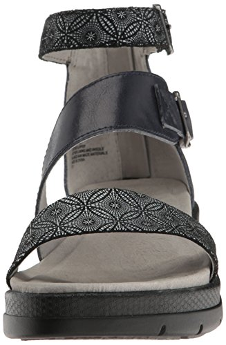Pictures of Jambu Women's Cape May Wedge Sandal WJ17CPY91 Midnight Print 8.5 M US 5