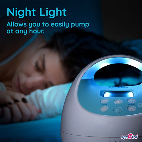 Large Product Image of Spectra Baby USA - S1 Plus Premier Rechargeable Electric Breast Pump, Double/Single, Hospital Grade