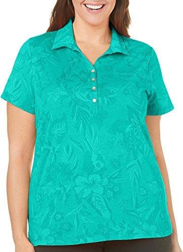 caribbean-joe-plus-floral-jacquard-polo-shirt-2x-emerald-wave-green