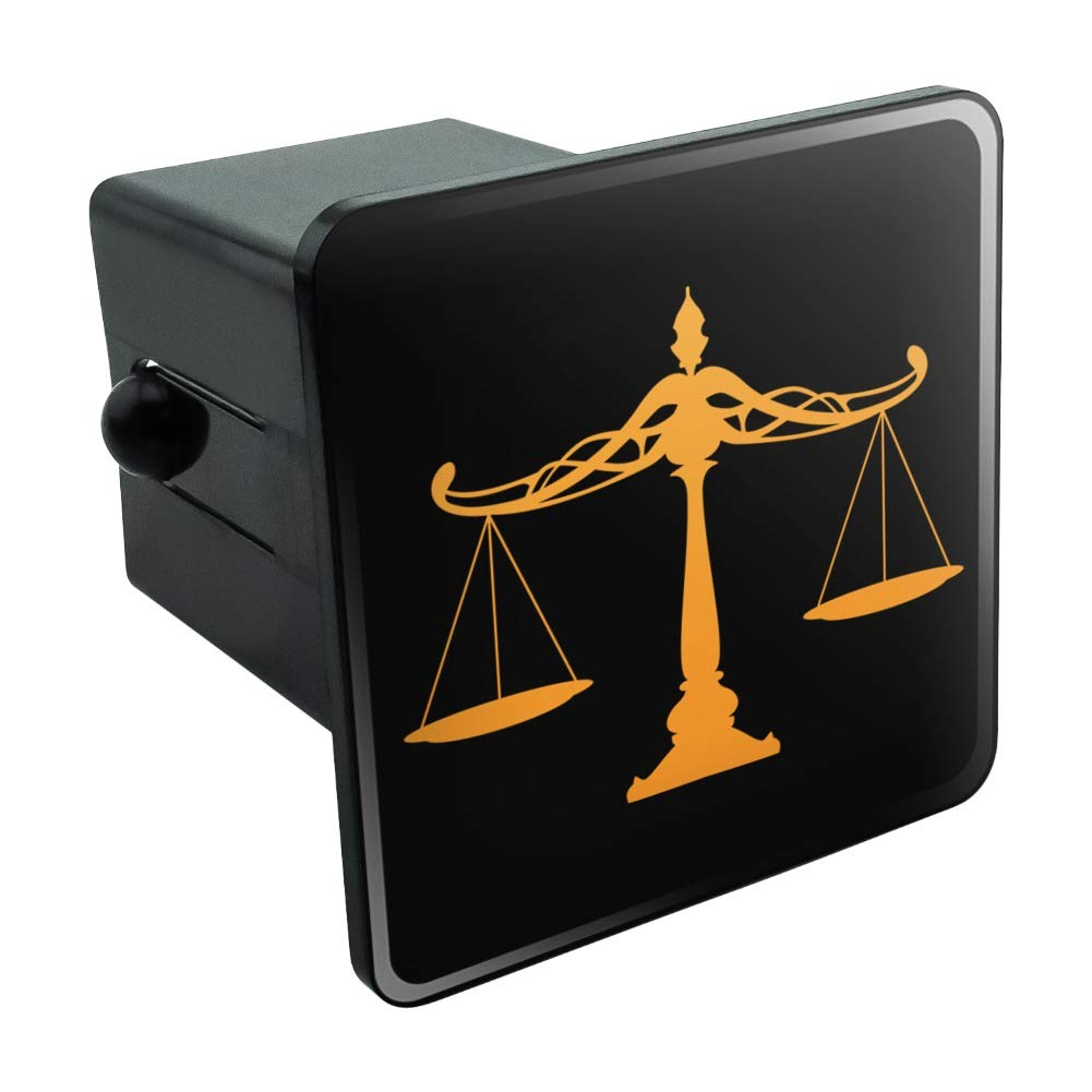 Graphics and More Scales of Justice Legal Lawyer Tow Trailer Hitch Cover Plug Insert