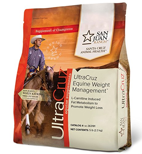 UltraCruz Equine Weight Management Supplement for Horses, 5 lb. Powder (118 Day Supply) by UltraCruz (Image #1)
