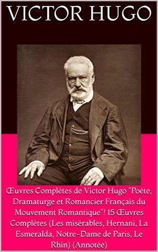 Amazon Com œuvres Completes De Victor Hugo Poete