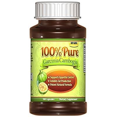 (?) Premium Garcinia Cambogia Extract, 80% HCA, (No Added Calcium), 180 Capsules, Wight Loss, Diet Pills & Appetite Suppressant