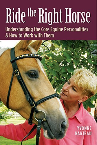 Ride the Right Horse: Understanding the Core Equine Personalities & How to Work with Them by Yvonne Barteau (2007-04-30) (Horse Right)