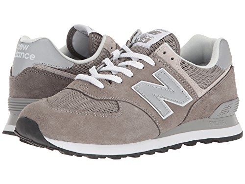 [new balance(ニューバランス)] メンズランニングシューズ?スニーカー?靴 ML574v2 Grey/Grey 17 (35cm) 4E - Extra Wide