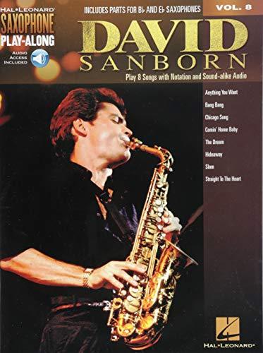 - David Sanborn: Saxophone Play-Along Volume 8 (Hal Leonard Saxophone Play-along)