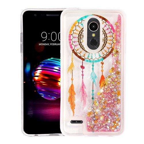 new product a4896 1c762 Phonelicious Glitter Liquid Case for LG K30/LG PREMIER PRO 4G  LTE/L413DL/L413DG Slim Hybrid Liquid Bling Glitter Sparkle Quicksand  Waterfall TPU Phone ...
