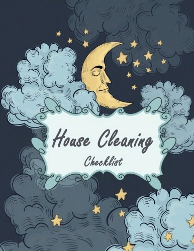 House Cleaning Checklist: Blue Cloud Design, Household Planner,Daily Routine Planner,Cleaning and Organizing Your House 120 Pages 8.5