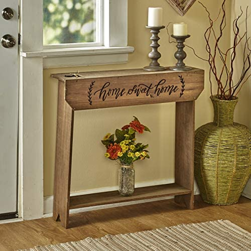Country Farmhouse Sentimental Message Console Table – Home Sweet Home