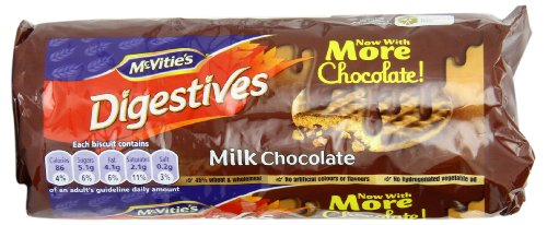 Mcvitie's Digestives, Milk Chocolate, 10.5 Ounce