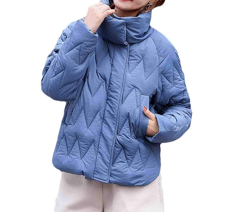 bluee Keaac Women's Coat Lightweight Puffer Down Jacket Packable Down Coats