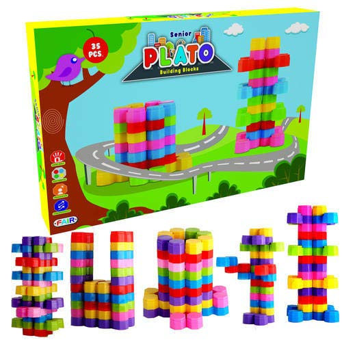 Nabhya Senior Plato Building Blocks Early Learning Educational Toy for Kids Age 2 to 5
